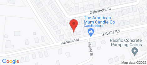 Location map for 161 Isabella Road Edmonton
