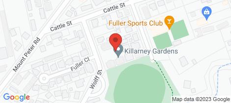 Location map for 12/18-22 Wolff Street Edmonton