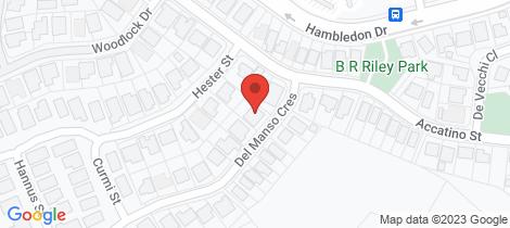 Location map for 4 Del Manso Crescent Edmonton