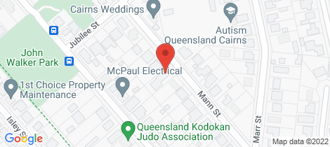 Location map for 1/27 Mann Street Edmonton