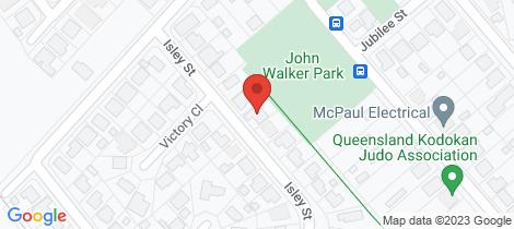 Location map for 34 Isley Street Edmonton