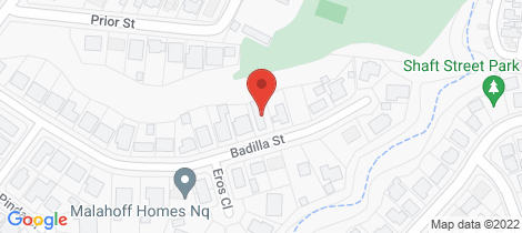 Location map for 14 Badilla Street Edmonton