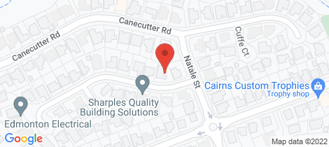 Location map for 4 McPhail Street Edmonton