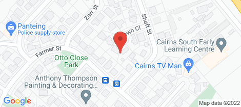 Location map for 7 Crown Close Edmonton