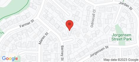 Location map for 4 Peverill Close Edmonton