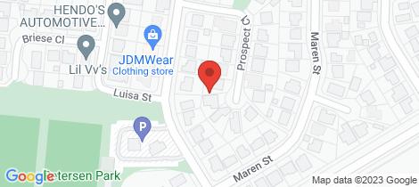 Location map for 5 Prospect Place Edmonton