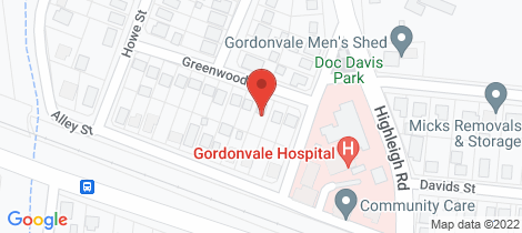 Location map for 5 Greenwood St Gordonvale