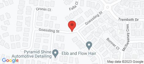 Location map for 13 Goessling Street Gordonvale