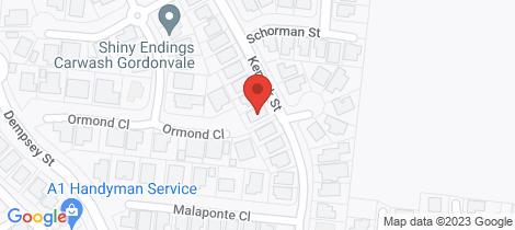 Location map for 13 Kenrick Street Gordonvale
