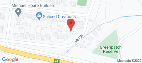 Location map for 106-108 Mill Street Gordonvale