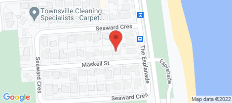 Location map for 3 Maskell Street Pallarenda