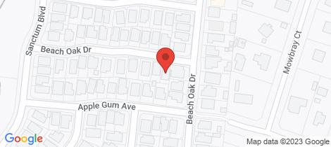 Location map for 34 Beach Oak Drive Mount Low