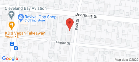 Location map for 6/84 Dearness Street Garbutt