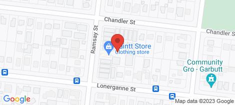 Location map for 1/25 Ramsay Street Garbutt