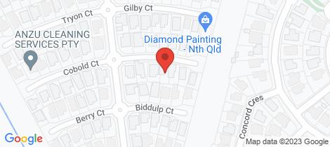 Location map for 7 Drummond Court Kirwan