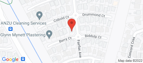 Location map for 1 Berry Court Kirwan