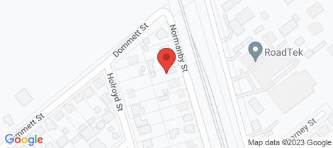Location map for 7 Normanby Street Wulguru