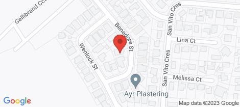 Location map for 11 Benedore Street Rasmussen