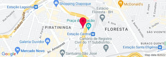 Map for Serraria Souza Pinto
