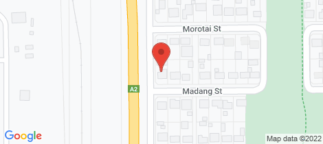 Location map for 2 Madang Street Mount Isa
