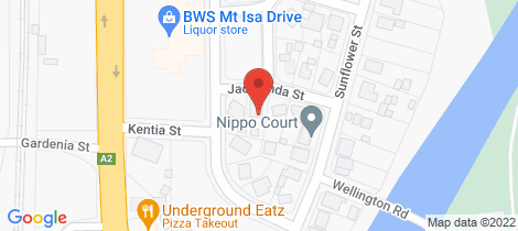 Location map for 6 Jacaranda Street Mount Isa