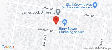Location map for 2/18 Elizabeth Street Mount Isa