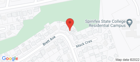 Location map for 29 Brett Avenue Mount Isa