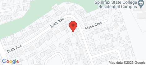 Location map for 28 Brett Avenue Mount Isa