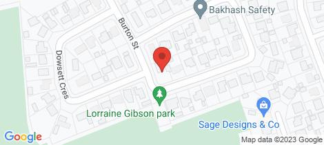 Location map for 15 Burton Street Mount Isa