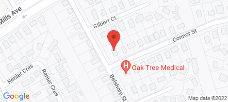 Location map for 9 BELSHORE STREET Moranbah