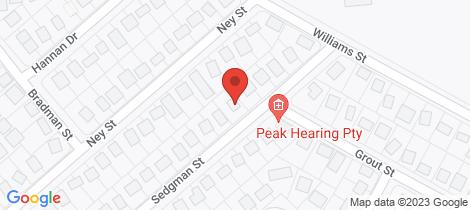 Location map for 12 SEDGMAN STREET Moranbah