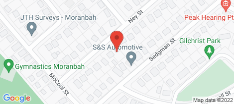 Location map for 31 NEY STREET Moranbah