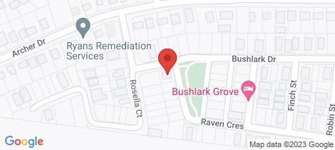 Location map for Lot 112 Raven Crescent Moranbah