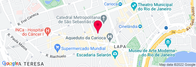 Map for Circo Voador