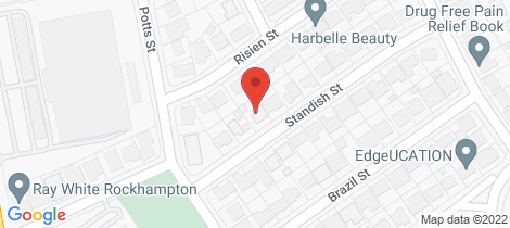 Location map for 7 Standish Street Norman Gardens