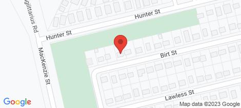 Location map for 8 Birt Street Blackwater