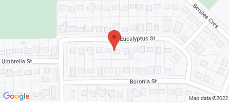 Location map for 11 Eucalyptus Street Blackwater