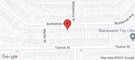 Location map for 28 Bottletree Avenue Blackwater