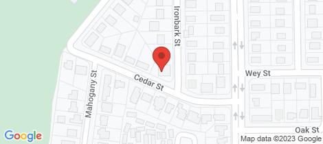 Location map for 16 Ironbark Street Blackwater