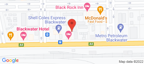Location map for 24 Railway Street Blackwater