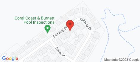 Location map for 26 Fairway Drive Bargara