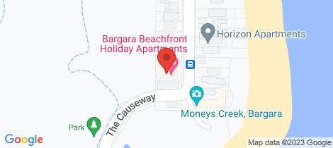 Location map for 1/5 Miller Street Bargara
