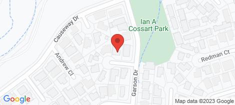 Location map for 7 Henderson Row Bargara