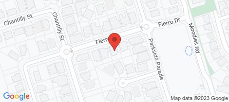 Location map for 9 Fierro Drive Bargara