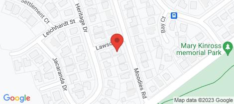 Location map for 158 Moodies Road Bargara