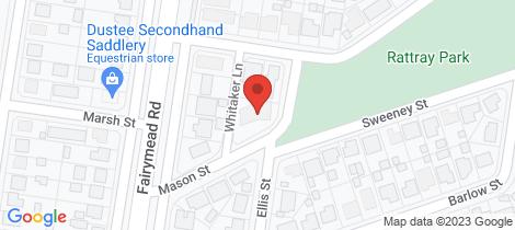 Location map for 3 Mason Street Bundaberg North