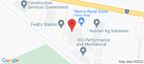 Location map for 19/96 Mount Perry Road Bundaberg North