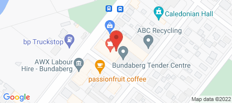 Location map for 11/44 Princess Street, Bundaberg East