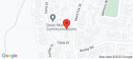 Location map for 21 Mary Fox Street Innes Park