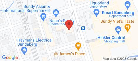 Location map for Lot 7/SHOP 1 - 31 Maryborough Street Bundaberg Central